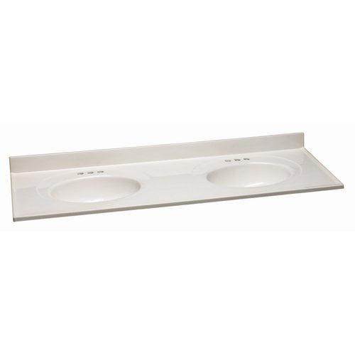 design house 61 double bowl vanity top walmart com
