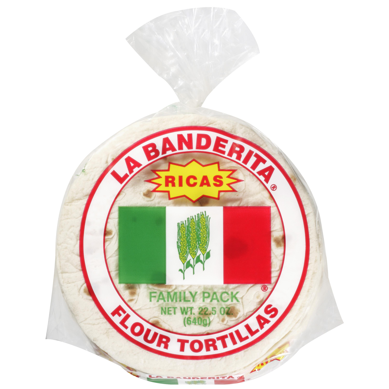 La Banderita 6 Inch Flour Tortillas, 20ct