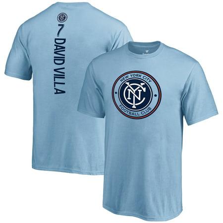 David Villa New York City FC Fanatics Branded Youth MLS Backer T-Shirt - Blue ()