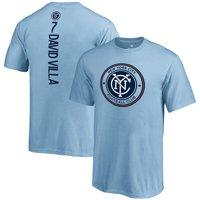 David Villa New York City FC Fanatics Branded Youth MLS Backer T-Shirt - Blue