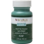 Waverly Inspirations 2 Oz. Malachite Chalk Paint