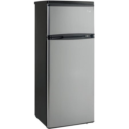 Avanti 7.5 cu ft Two-Door Apartment Size Refrigerator with ...
