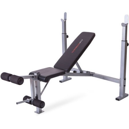 Cap Strength Olympic Bench with Weight Set Value