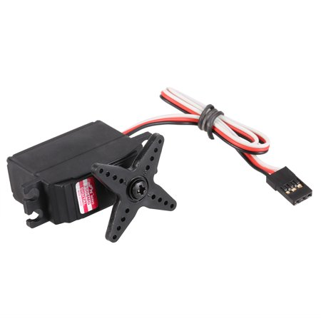 JX PDI-2504MG 25g Metal Gear Digital Coreless Servo for RC 450 500 Helicopter Fixed-wing Airplane - image 3 of 7