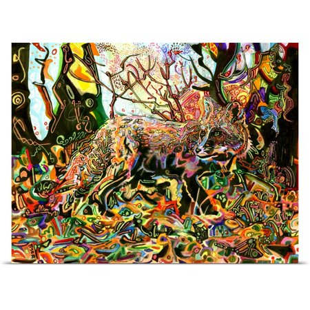 Great Big Canvas Josh Byer Poster Print Entitled Mozillas Fox
