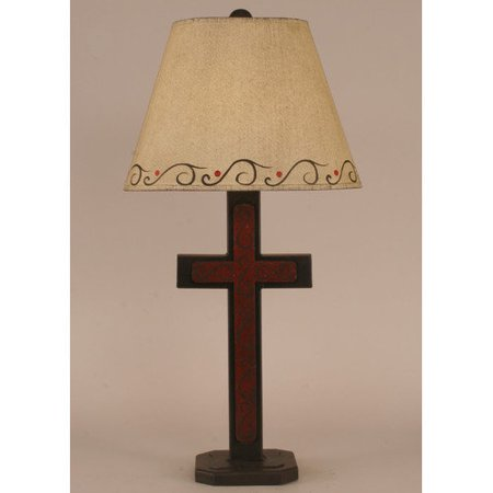 coast lamp mfg rustic living small cross 27 5 39 39 h accent table lamp. Black Bedroom Furniture Sets. Home Design Ideas