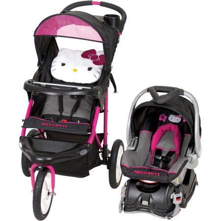 baby trend hello kitty jogger travel system. Black Bedroom Furniture Sets. Home Design Ideas