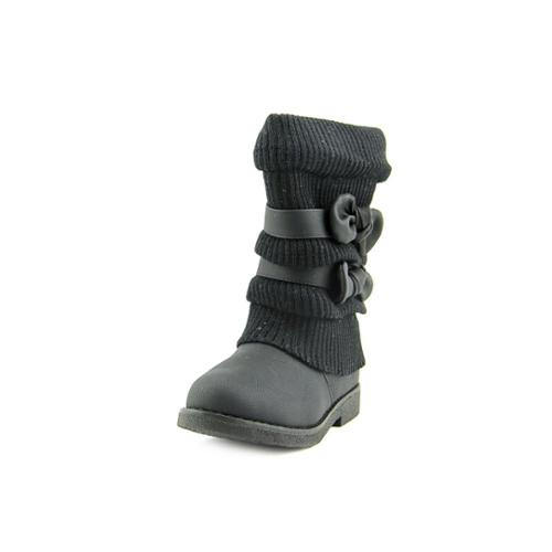 Dream Pair DREAM PAIRS Youth Girls Size 13 Black Winter Boots ...