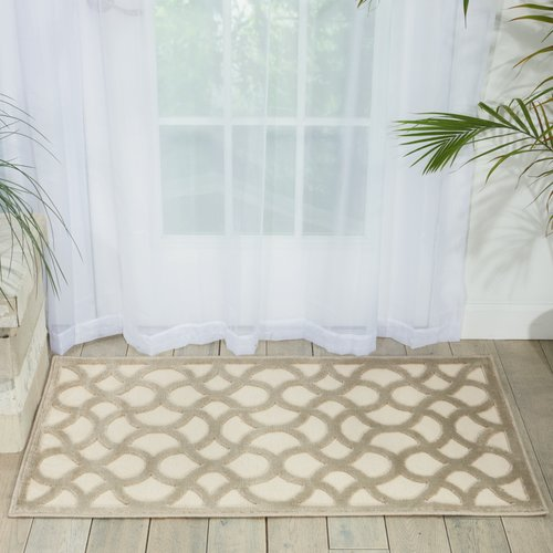 SheetWorld Willa Arlo Interiors Blondelle Beige Area Rug