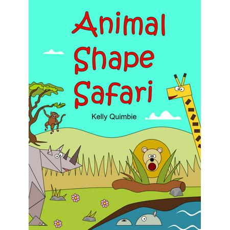 Animal Shape Safari - eBook