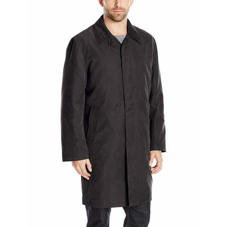 Men Coat Long Button Down Muli Function Liner 42