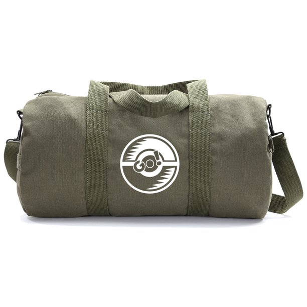 Poke Ball Heavyweight Canvas Duffel Bag