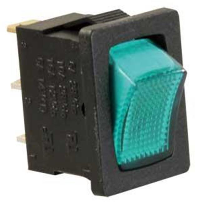 JR PRODUCTS 12775 12V On-Off Switch - Green-Black
