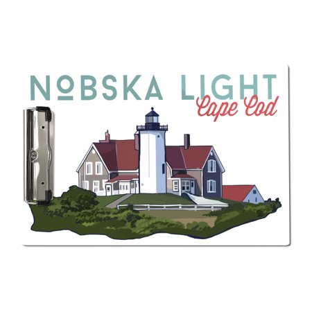 Nobska Light, Cape Cod - Icon - Lantern Press Artwork (Acrylic