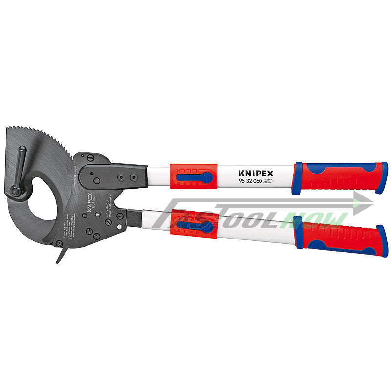 "Knipex 9532060 25"" Ratchet Action Cable Cutter w/ Telesco..."