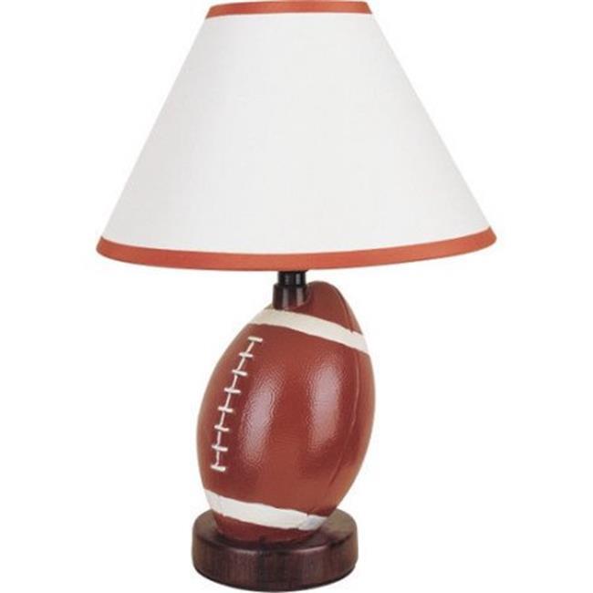 12 in. Football Ceramic Table Lamp - image 1 de 1