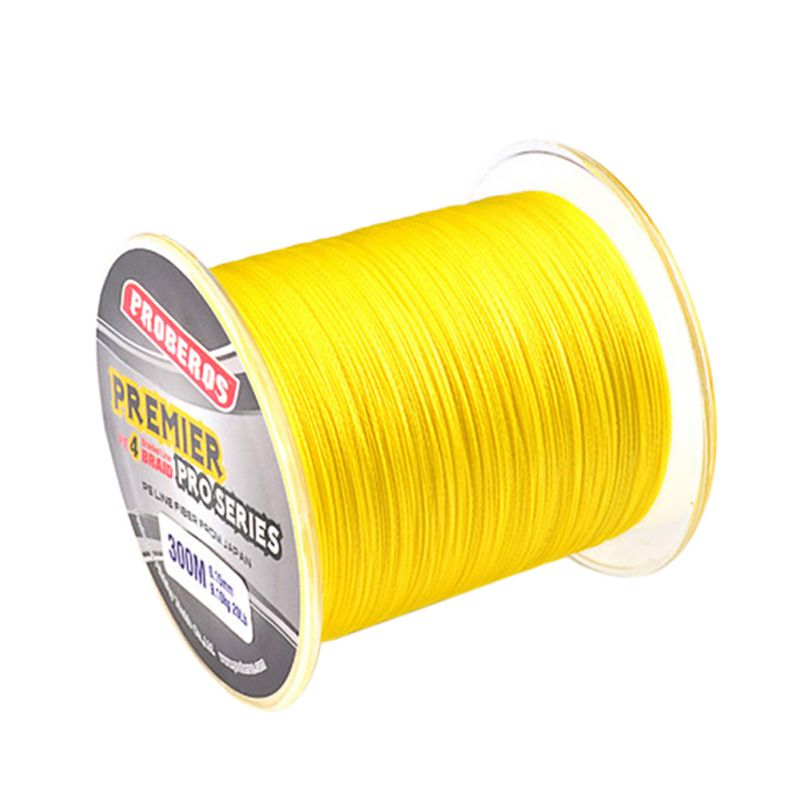 300M 330Yards PE Braided Fishing Line 4 stands 8LB 10LB 20LB 60LB Multifilament Fishing Lines by