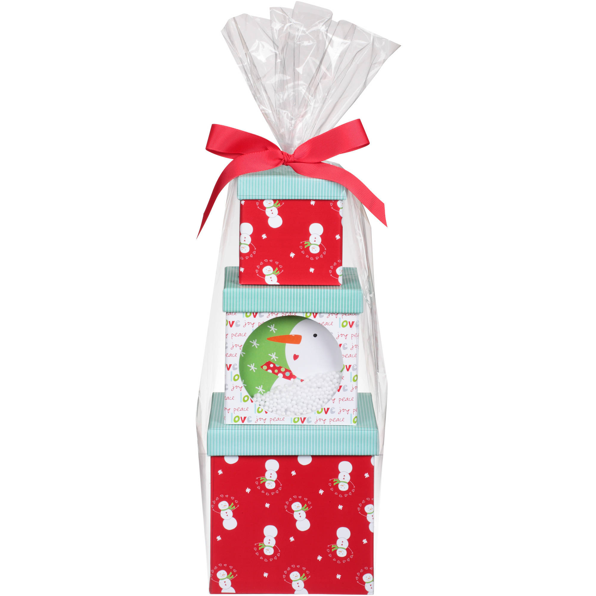 Sandra Magsamen Snow Much Tower Candy and Cookie Holiday Gift Set, 10 pc