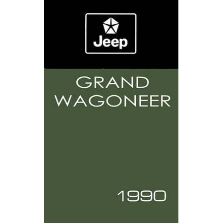 Bishko OEM Maintenance Owner's Manual Bound for Jeep Grand Wagoneer 1990