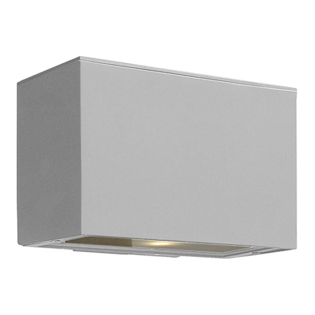 Wall Sconces 1 Light With Titanium Etched Lens Extruded Aluminum Medium Base 6 inch 75 Watts