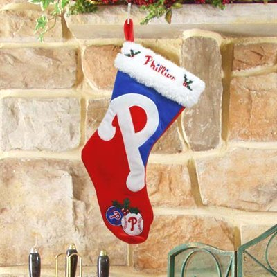Forever Collectibles Colorblock MLB 2011 Philadelphia Phillies Stocking