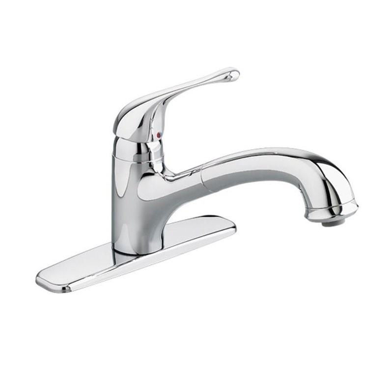 American Standard 4175.100.002 Colony Soft Single-Handle Pull-Out Sprayer Kitchen Faucet in Polished Chrome