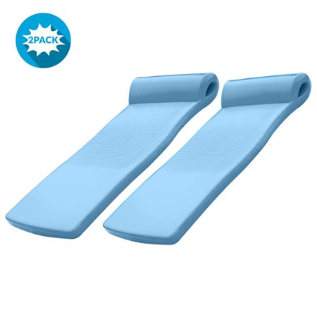 Trc Recreation Ultra Sunsation Foam Pool Floats Metallic Blue Set Of 2