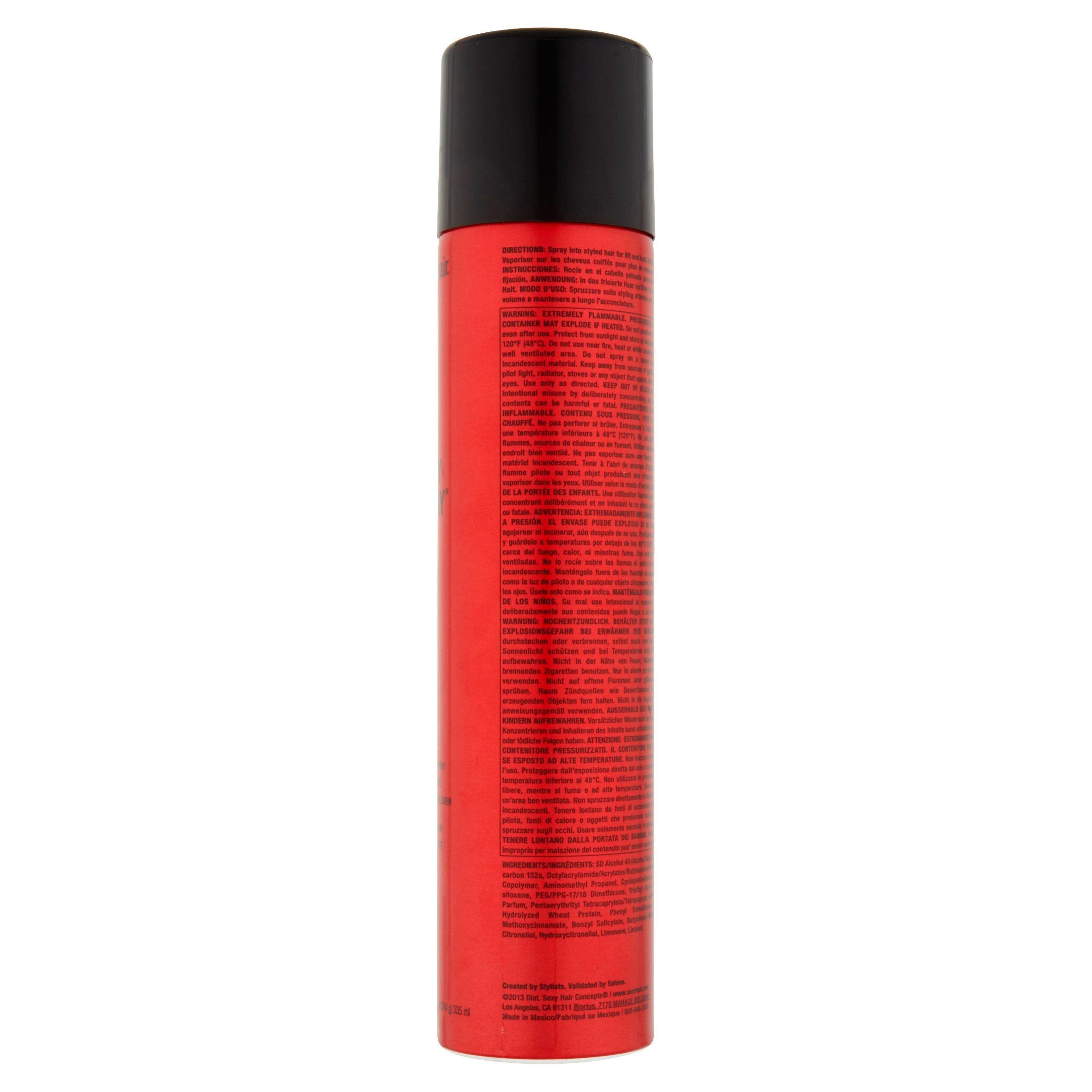 Big Sexy Hair Spray & Play Volumizing Hairspray, 10 oz - Walmart.com