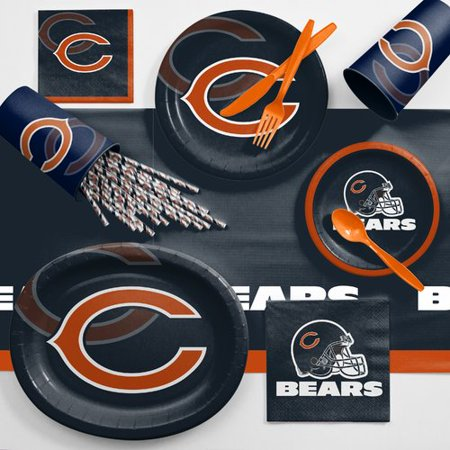 Chicago Bears Ultimate Fan Party Supplies - Chicago Bears Decorations