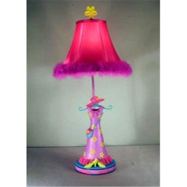 Judith Edwards Designs GIRL DRESS LAMP 1605