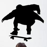Wallhogs Skateboard Silhouette III Cutout Wall Decal