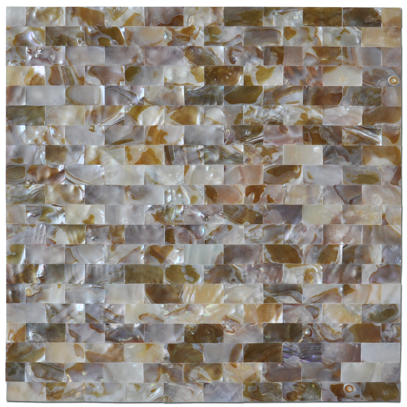 Art3d Peel And Stick Mother Of Pearl White Shell Mosaic