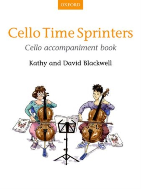 Cello Time Sprinters Cello Accompaniment Book (SHeet music) by