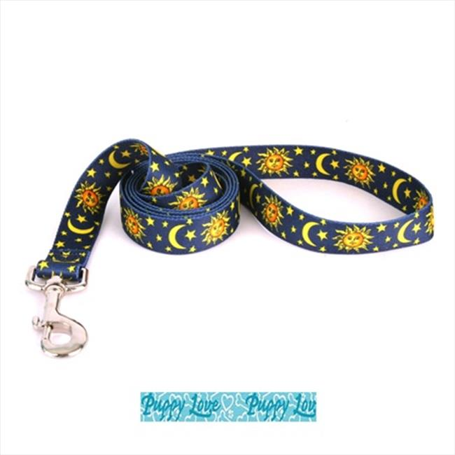 Yellow Dog Design PLB104LD Puppy Love Blue Lead - 3/8 inch x 60 inch