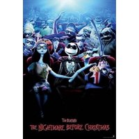 Nightmare Before Christmas Poster Poster Print