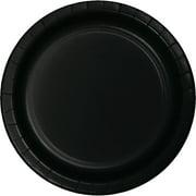 10 inch Round Paper Banquet Plate Black Velvet,Pack of 24 EA