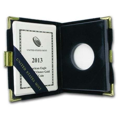 OGP Box & COA - 2013 (W) 1/2 oz Proof Gold American Eagle