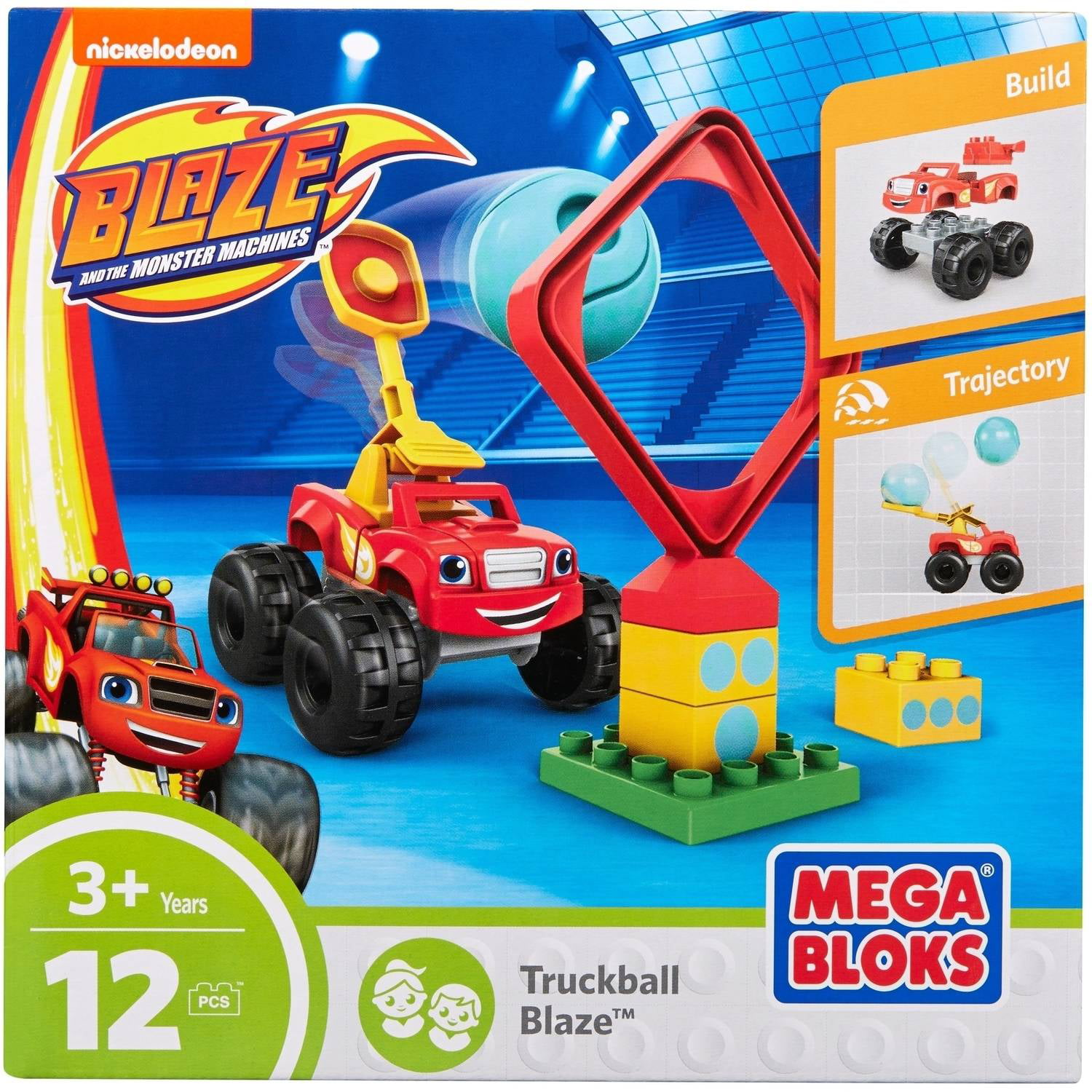 Mega Bloks Nickelodeon Blaze and the Monster Machines Truckball Blaze by Mattel