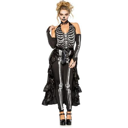 Hustle and Bustle Skeleton Adult Ladies Costume