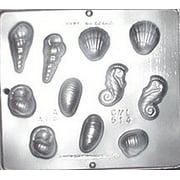 514 Seashell Assortment Chocolate Candy Mold