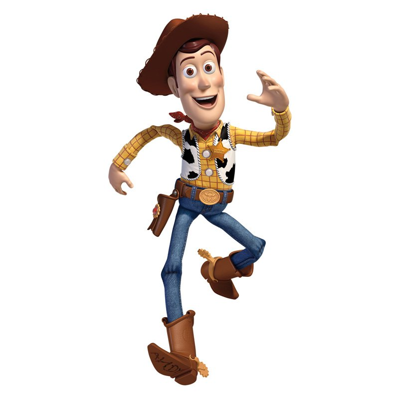 RoomMates Disney Pixar Toy Story Woody Giant Peel & Stick Wall Decal