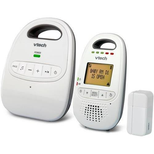 Vtech DM251-102 Digital Audio Baby Monitor with DECT 6.0 Technology - White - Online Only