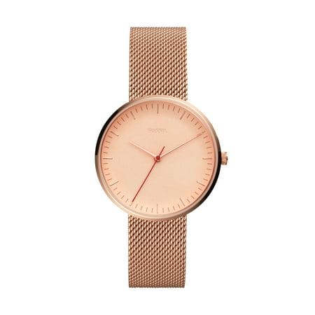 Fossil Women's Essentialist Rose Gold Tone Stainless Steel Watch, ES4425