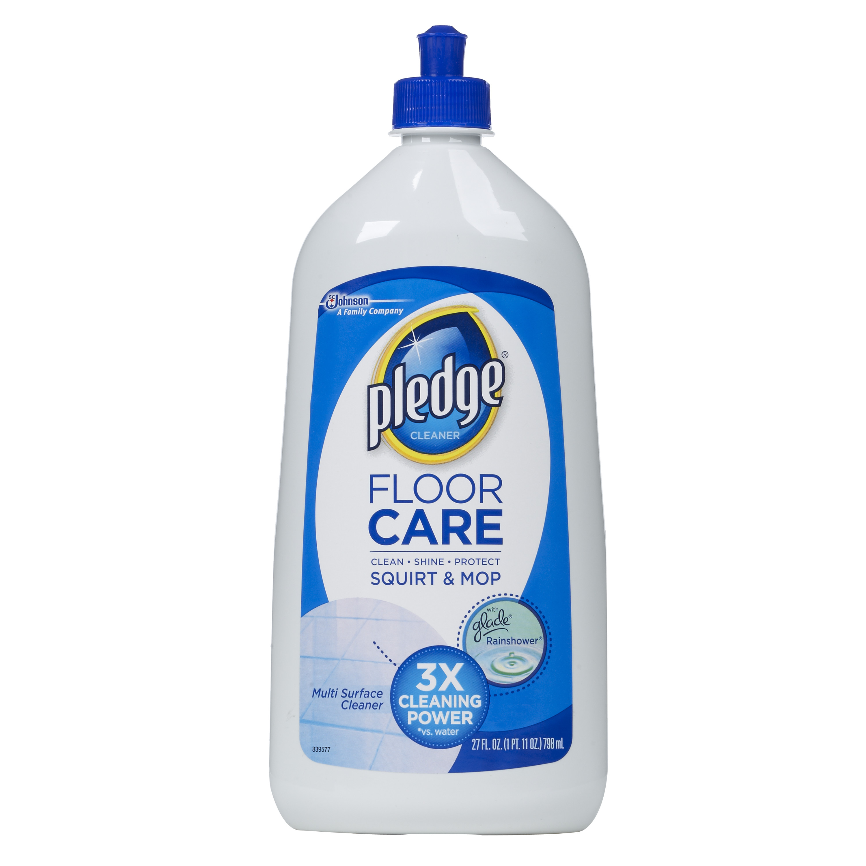 Pledge FloorCare Multi Surface Squirt & Mop 27 Ounces.