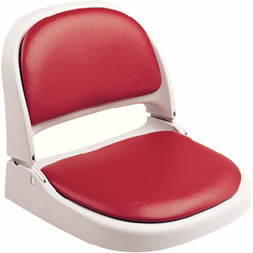Attwood Proform Seat, Gray Frame, Red Vinyl by Attwood Corporation