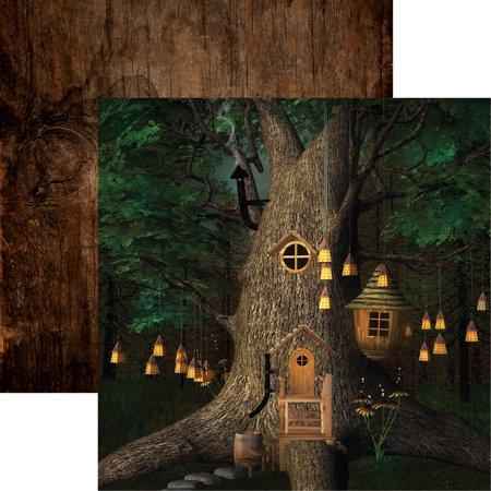 "Woodland Elf Double-Sided Cardstock 12""X12""-Woodland Elf - image 1 de 1"