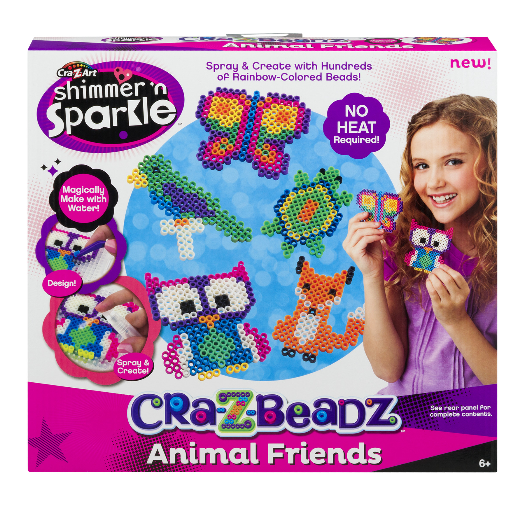 Cra-Z-Art Shimmer 'N Sparkle Cra-Z-Beadz Animal Friends, 1.0 CT by LaRose Industries, LLC