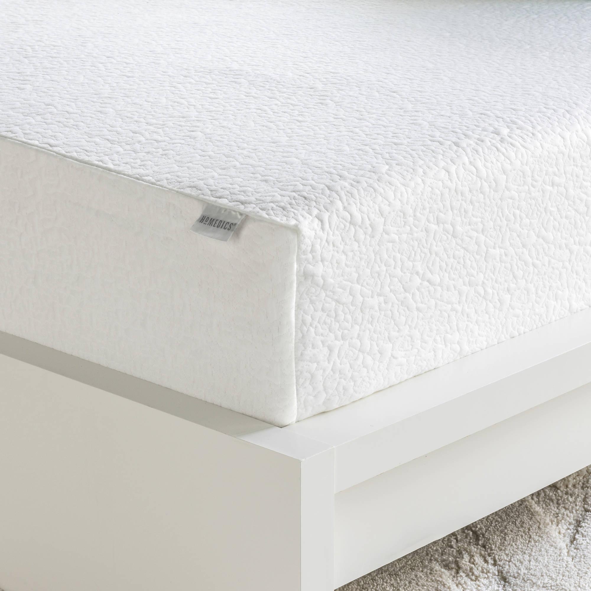 homedics 12 memory foam mattress multiple sizes walmart com