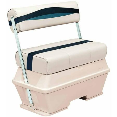 Wise Premier Series Pontoon 70 qt Flip Flop Cooler (Cooler Seat)