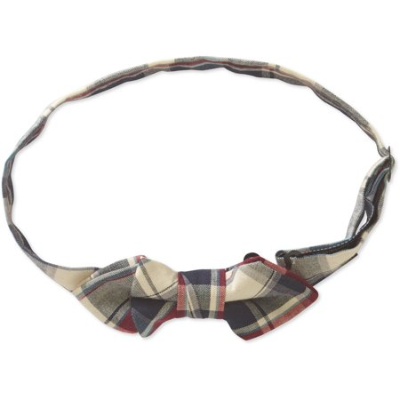 Genevieve Goings Collection Boys Red Pre-Tied Adjustable Bow